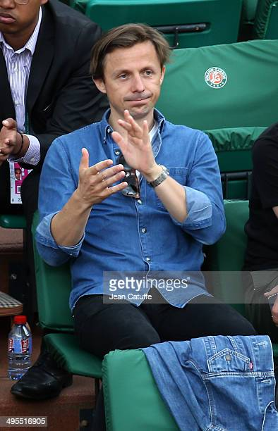 Martin Solveig attends Day 10 of the French Open 2014 held at RolandGarros stadium on June 3 2014 in Paris France