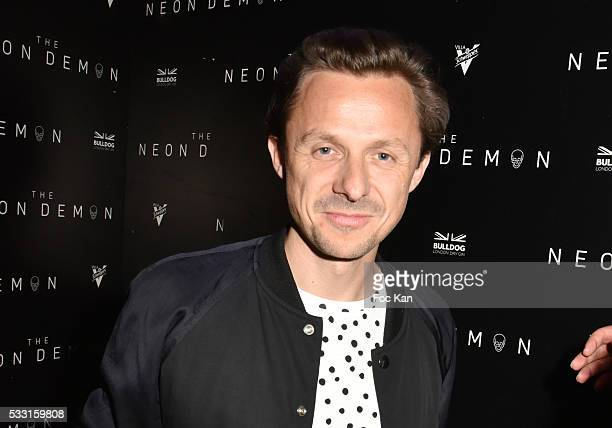 Martin Solveig attends Neon Demon Party at Villa Schweppes iduring the 69th Annual Cannes Film Festival at Villa Schweppes on May 20 2016 in Cannes...