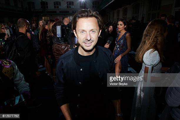 Martin Solveig attends the John Galliano show as part of the Paris Fashion Week Womenswear Spring/Summer 2017 on October 2 2016 in Paris France