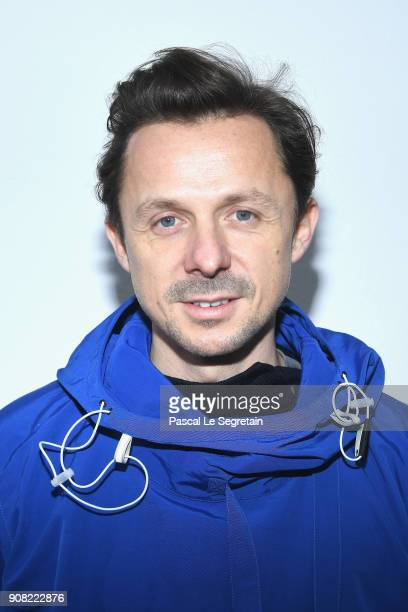 Martin Solveig attends the Lanvin Menswear Fall/Winter 20182019 show as part of Paris Fashion Week on January 21 2018 in Paris France
