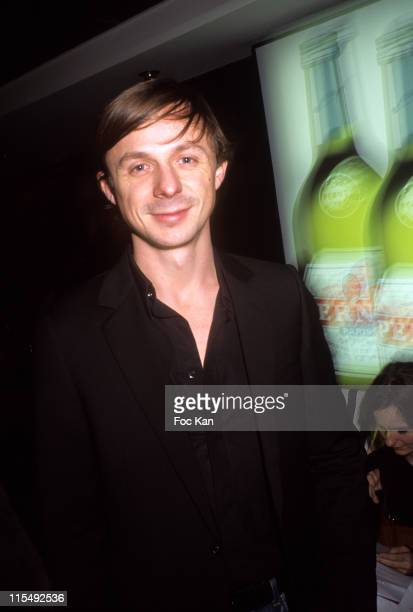 Martin Solveig attends the Pernod Fashion Awards 2007 Party on the 'Mirage' Boat on December 4 2007 in Paris France