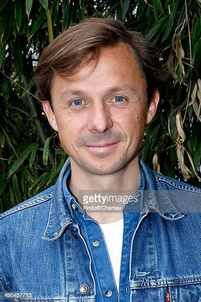 Martin Solveig attends the Roland Garros French Tennis Open 2014 Day 10 on June 3 2014 in Paris France
