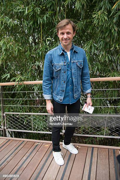 Martin Solveig attends the Roland Garros French Tennis Open 2014 Day 10 at Roland Garros on June 3 2014 in Paris France