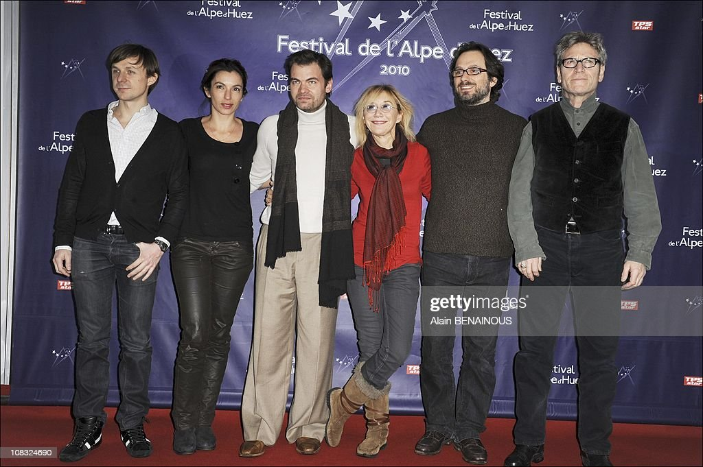 The 13th Alpe d'Huez comedy Film Festival in Alpe d'Huez, France on January 21st , 2010. : Photo d'actualité