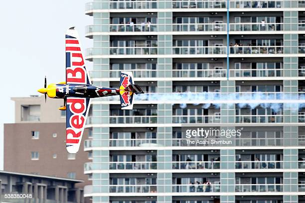 Martin Sonka of the Czech Republic competes during the Red Bull Air Race Chiba 2016 on June 5 2016 in Chiba Japan