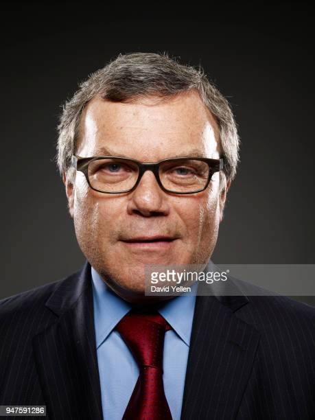 Martin Sorrell is photographed for Ad Week on November 4 2008 in New York City