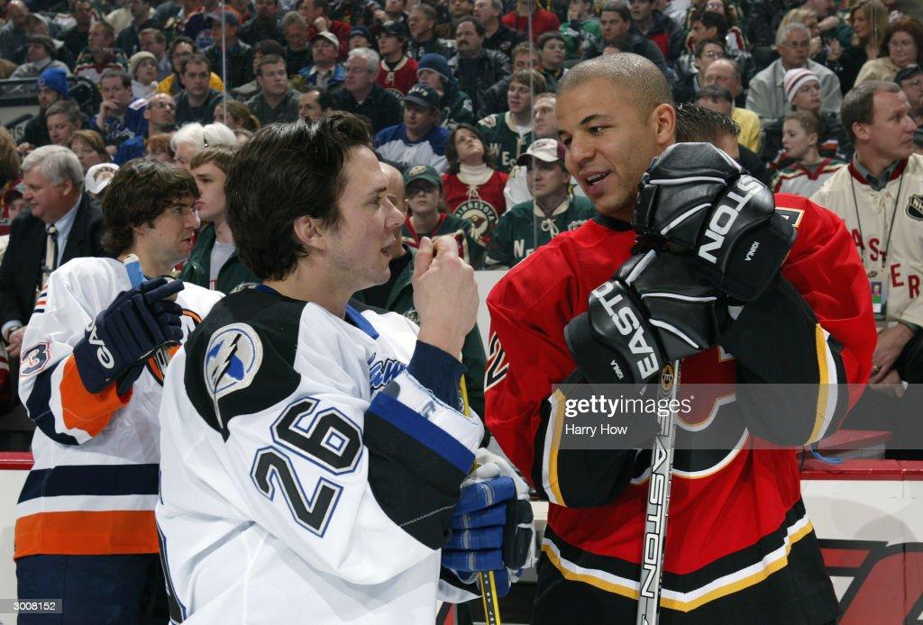 2004 NHL All-Star Super Skills Competition : News Photo