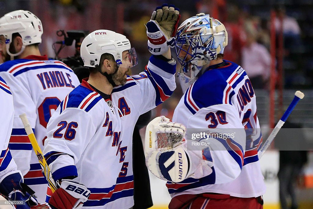 New York Rangers v Washington Capitals - Game Six : News Photo
