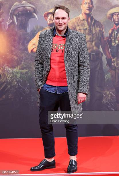 Martin Stange arrives at the German premiere of 'Jumanji Willkommen im Dschungel' at Sony Centre on December 6 2017 in Berlin Germ