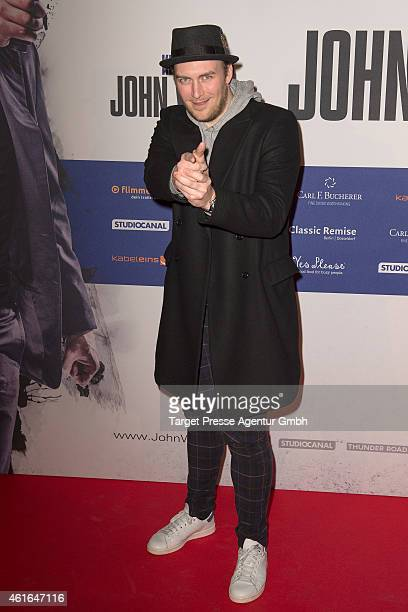 Martin Stange attends a special preview of the film 'John Wick' on January 16 2015 in Berlin Germany