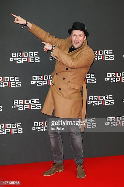 Martin Stange attends the 'Bridge of Spies Der Unterhaendler' World Premiere In Berlin on November 13 2015 in Berlin Germany