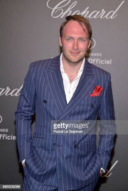 """Martin Stange attends the Chopard """"SPACE Party"""" hosted by Chopard's copresident Caroline Scheufele and Rihanna at Port Canto on May 19 in Cannes..."""