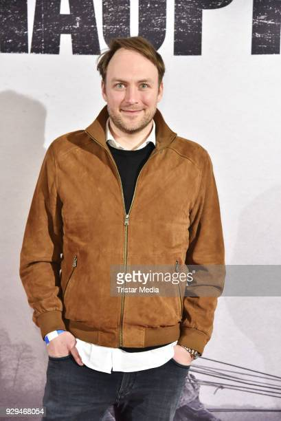 Martin Stange attends the premiere of 'Der Hauptmann' at Kino International on March 8 2018 in Berlin Germany