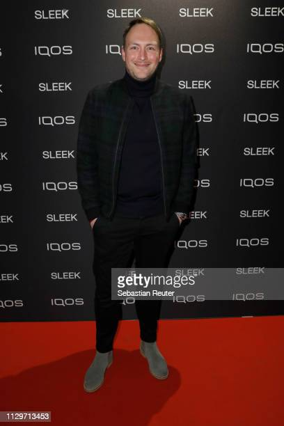 Martin Stange during the Sleek X IQOS Valentines Party at Claerchens Ballhaus on February 14 2019 in Berlin Germany