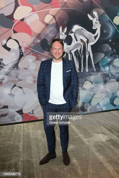 Martin Stange during the Tribute to Bambi 2018 charity gala benefit to Bambi hilft Kindern at Kraftwerk Mitte on October 18 2018 in Berlin Germany