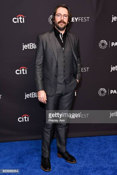 Martin Starr attends PaleyFest Los Angeles 2018 Silicon Valley at Dolby Theatre on March 18 2018 in Hollywood California