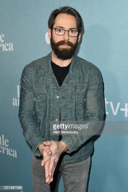 "Martin Starr attends the premiere of Apple TV+'s ""Little America"" at Pacific Design Center on January 23, 2020 in West Hollywood, California."