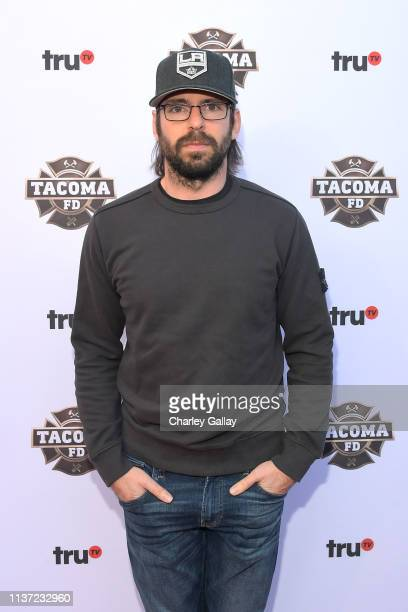 Martin Starr attends truTV's Tacoma FD Premiere Event on March 20 2019 in Los Angeles California