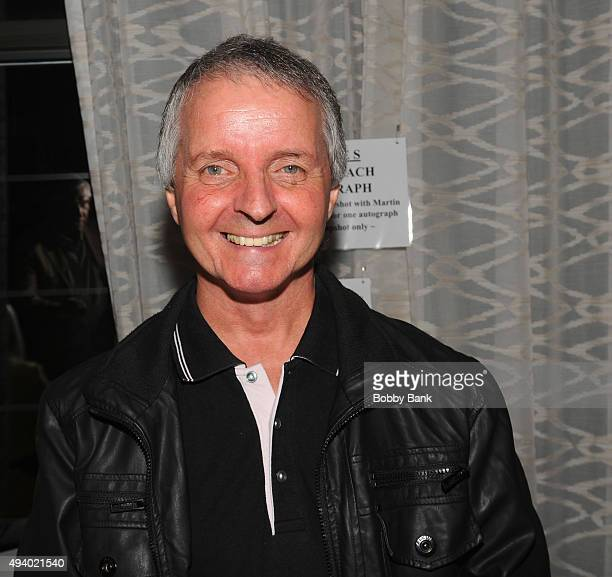 Martin Stephens attends Day 1 of the Chiller Theatre Expo at Sheraton Parsippany Hotel on October 23 2015 in Parsippany New Jersey