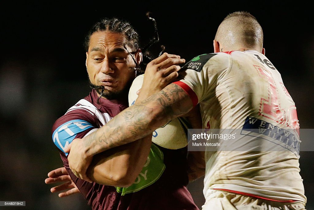 NRL Rd 17 - Sea Eagles v Dragons