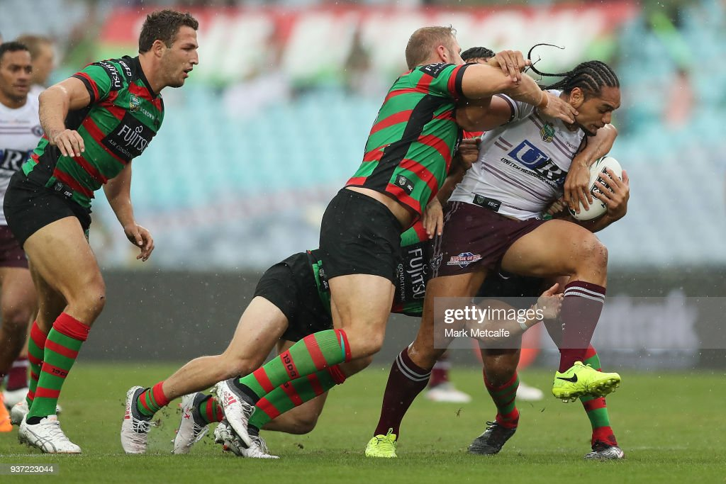 NRL Rd 3 - Rabbitohs v Sea Eagles