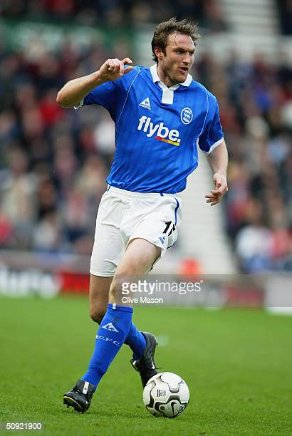 Martin Taylor of Birmingham City during the FA Barclaycard Premiership match between Middlesbrough and Birmingham City at The Riverside Stadium on...