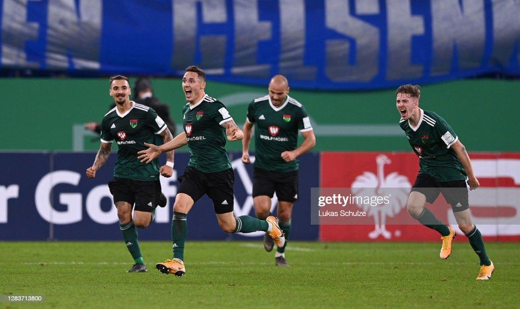 1. FC Schweinfurt 05 v FC Schalke 04 - DFB Cup: First Round : News Photo