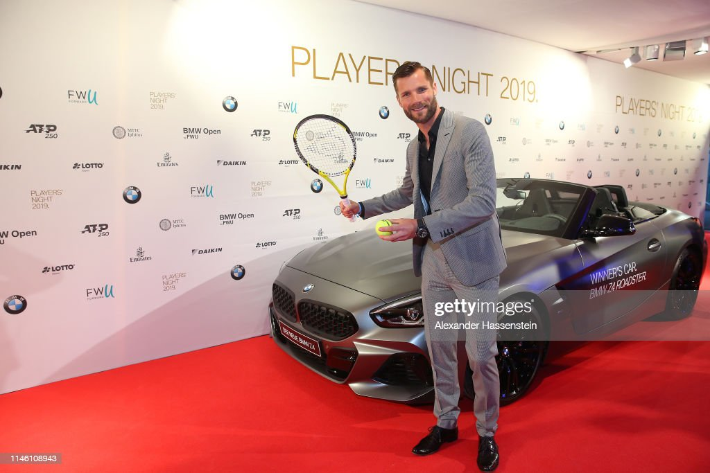 Martin Tomczyk Arrives At The Bmw Open Players Night 2019 On Day 4