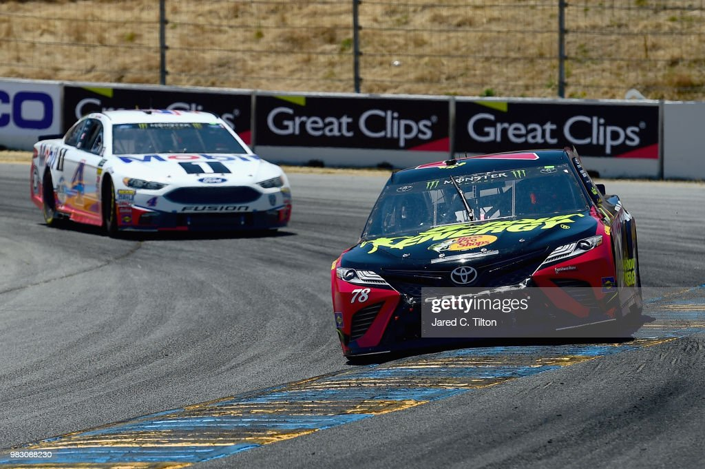 Monster Energy NASCAR Cup Series Toyota/Save Mart 350 : News Photo