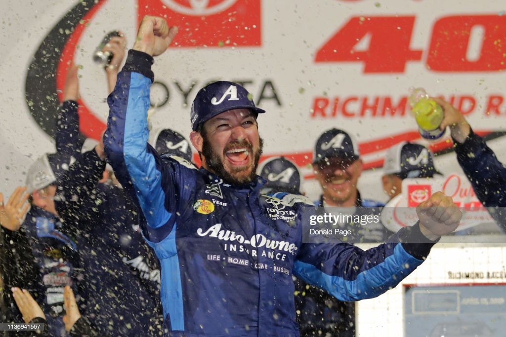 Monster Energy NASCAR Cup Series Toyota Owners 400 : News Photo