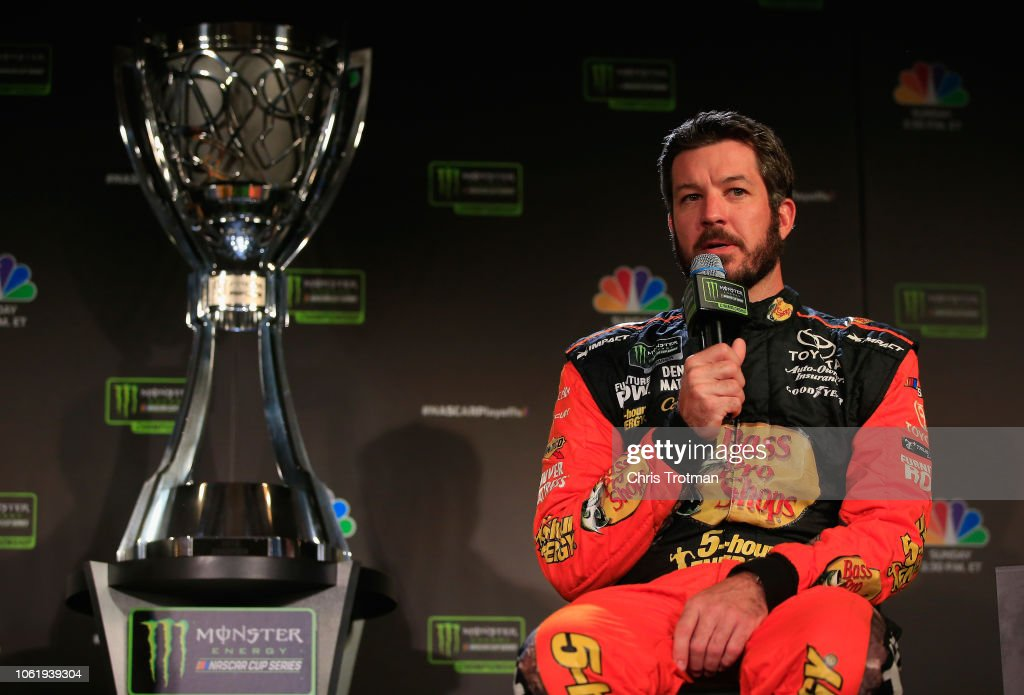 Monster Energy NASCAR Cup Series Championship 4 Media Day : News Photo