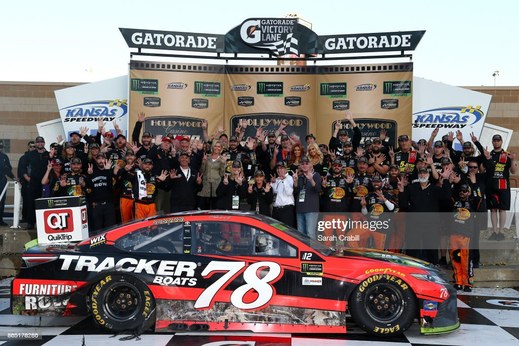 Monster Energy NASCAR Cup Series Hollywood Casino 400 : News Photo