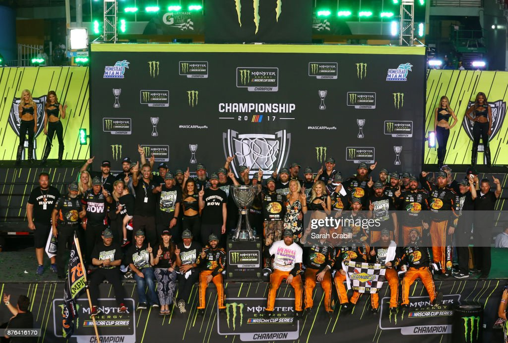 Monster Energy NASCAR Cup Series Championship Ford EcoBoost 400 : News Photo