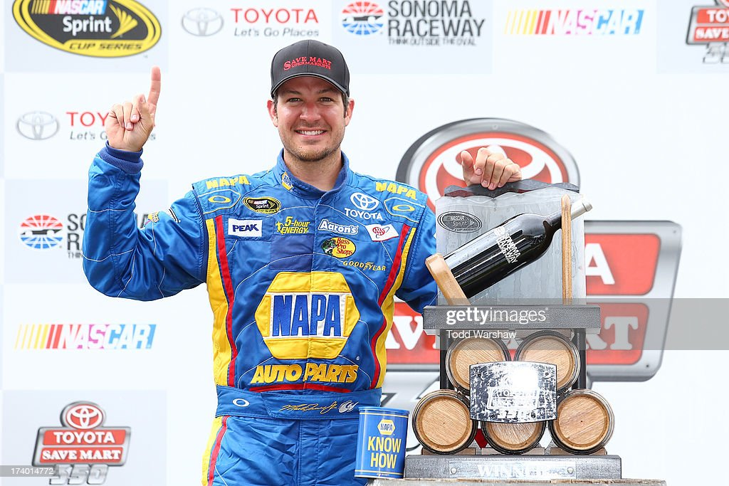 Toyota/Save Mart 350 : News Photo