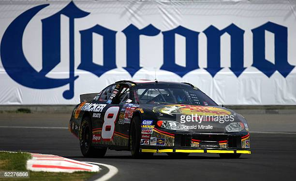 Martin Truex Jr. Drives his Tracker Chevrolet Monte Carlo during the practice for the Telcel Mexico 200 Nascar Busch Series Race on March 4, 2005 at...