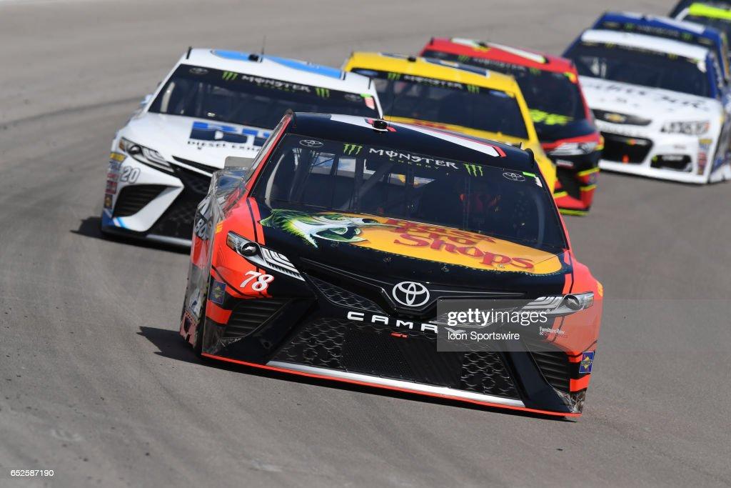 Martin Truex Jr Furniture Row Racing Toyota Camryracing During The