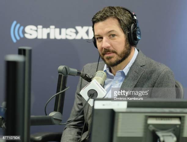 Martin Truex Jr Visits SiriusXM at SiriusXM Studios on November 21 2017 in New York City