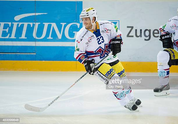 Martin Ulmer during a National League A game in Zug Switzerland