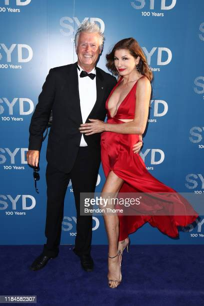 Martin Walsh and Michelle Walsh attend the Sydney Airport 100 Year Gala Event on October 31 2019 in Sydney Australia