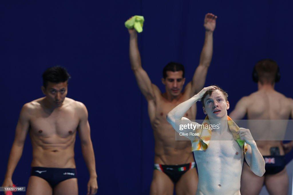 Diving - Olympics: Day 11 : Nachrichtenfoto