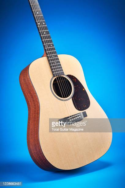 A Martin X Series DX1E04 electroacoustic guitar taken on February 13 2020