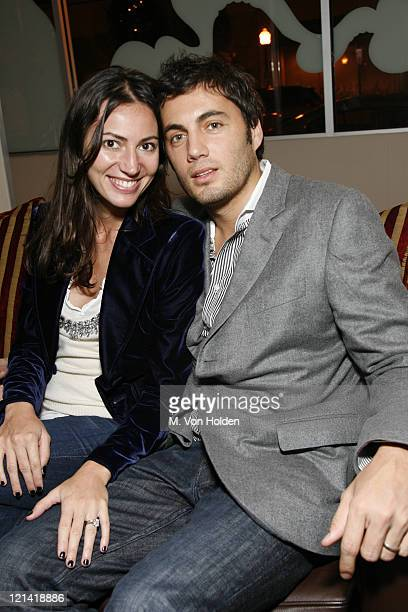 """Martina Basabe and Fabian Basabe during The 9th Annual SCAD Savannah Film Festival- """"The Three Burials of Melquiades Estrada"""" Screening - After..."""