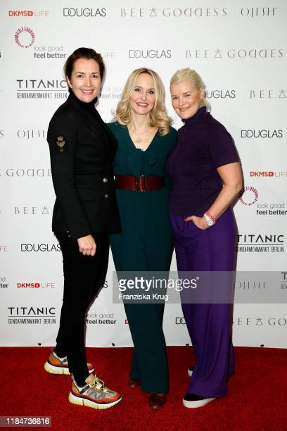 Martina Bovenkerk, Anne Meyer-Minnemann and Alexandra Iwan during the Titanic Hotel and DKMS Life Christmas Charity Ladies Lunch on November 25, 2019...