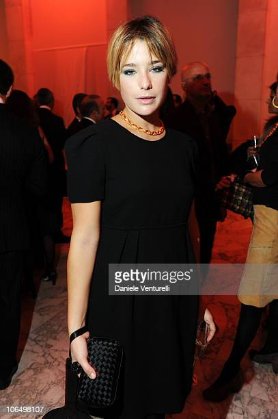 Martina Codecasa attends The Bulgari Express for Save The Children Cocktail Party at the Salone delle Fontane on November 3 2010 in Rome Italy