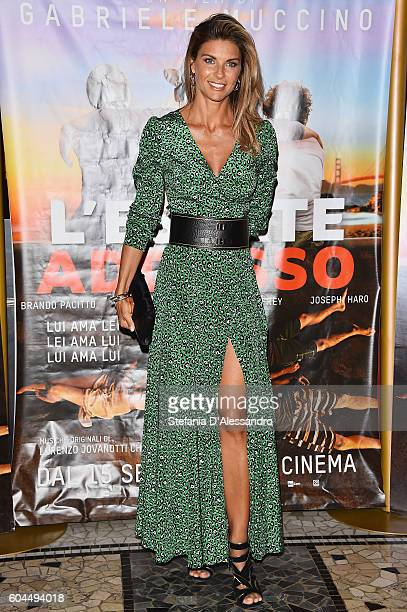 Martina Colombari attends a photocall for 'L'Estate Addosso Summertime' on September 13 2016 in Milan Italy