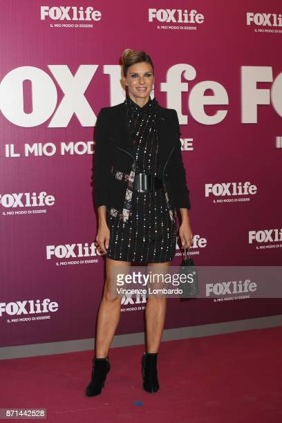 Martina Colombari attends Foxlife Official Night Out on November 7 2017 in Milan Italy