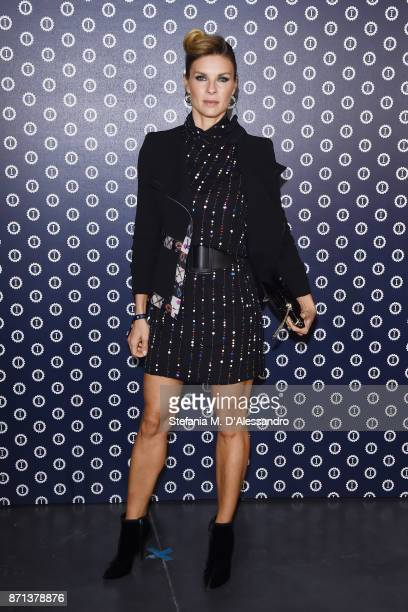 Martina Colombari attends Opening Garage Italia Milano on November 7 2017 in Milan Italy