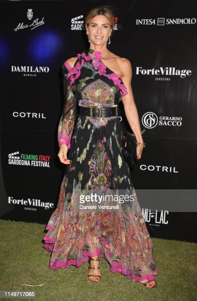 Martina Colombari attends the Filming Italy Sardegna Festival 2019 Day 1 at Forte Village Resort on June 13, 2019 in Cagliari, Italy.