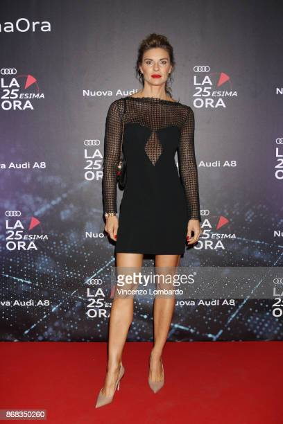 Martina Colombari attends the 'La 25esima Ora New Audi A8 Launch' at Unicredit Pavilion on October 30 2017 in Milan Italy