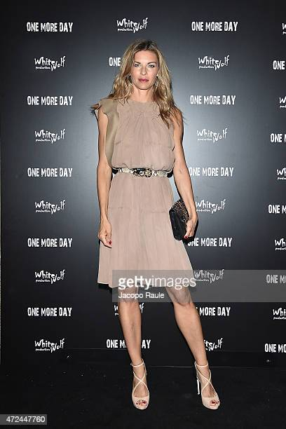 Martina Colombari attends the 'One More Day' premiere on May 7 2015 in Milan Italy
